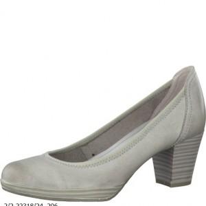 Marco Tozzi lodičky dámské bílé/šedé